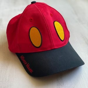 Disney Mickey Mouse Hat with attached Sunglasses